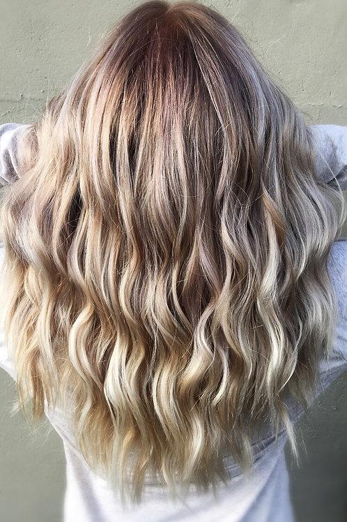 Balayage Blonding