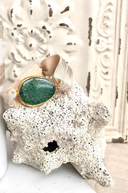 Green HairTie Bracelet