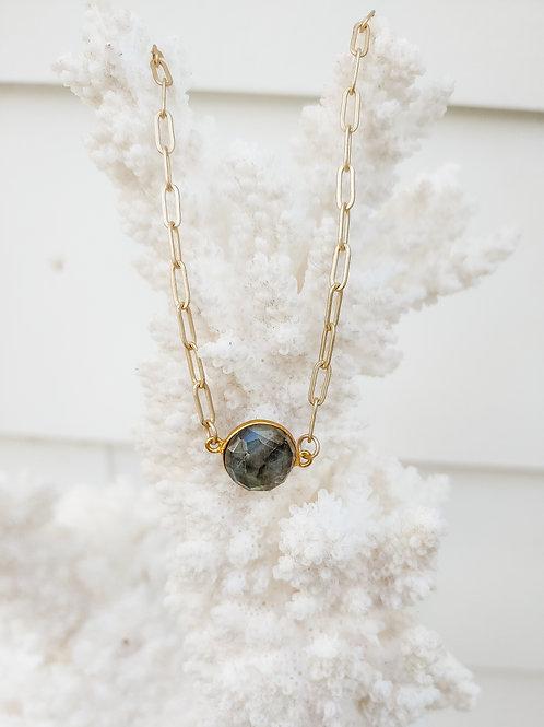 Labradorite Shortie Necklace