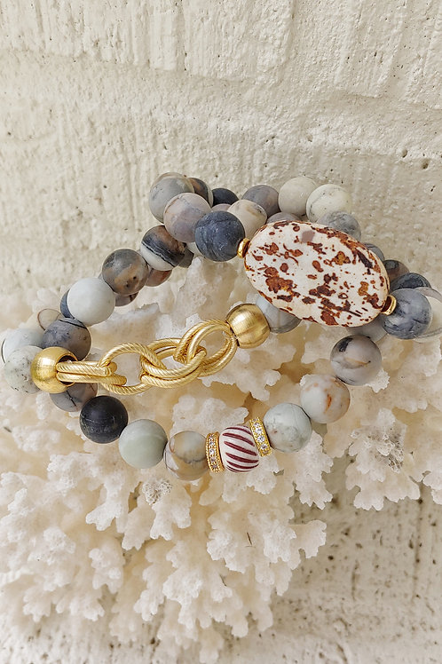 Matte Gray Picasso Bracelet Collection