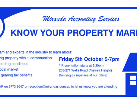 Join Us to Know Your Property Market