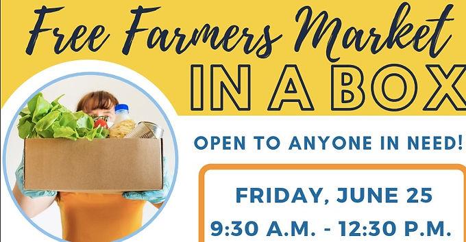 Free Farmer's Market in a Box
