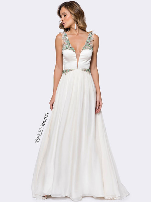 Ashley Lauren 1169 Ivory Size 2