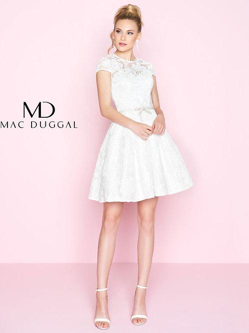 Mac Duggal 40848 White Size 6