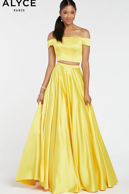Alyce 1426 Yellow Size 0