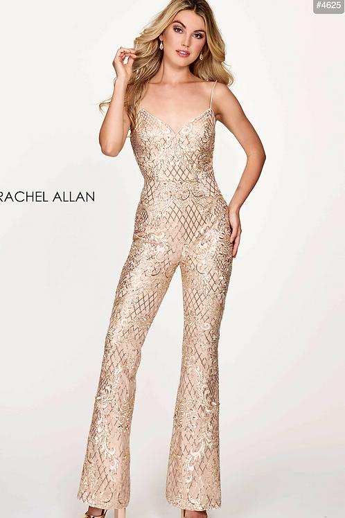 Rachel Allan 4625 Champagne Size 6