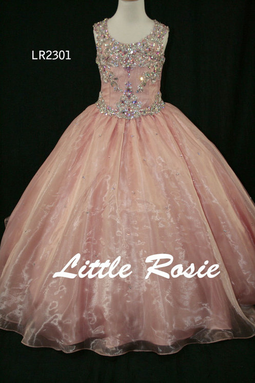 Little Rosie LR2301 Blush Chmpn Size 10