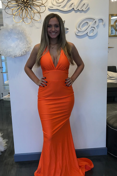 Jessica Angel 378 Neon Orange Size Small
