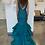 Thumbnail: Mac Duggal 80587 Emerald Size 4