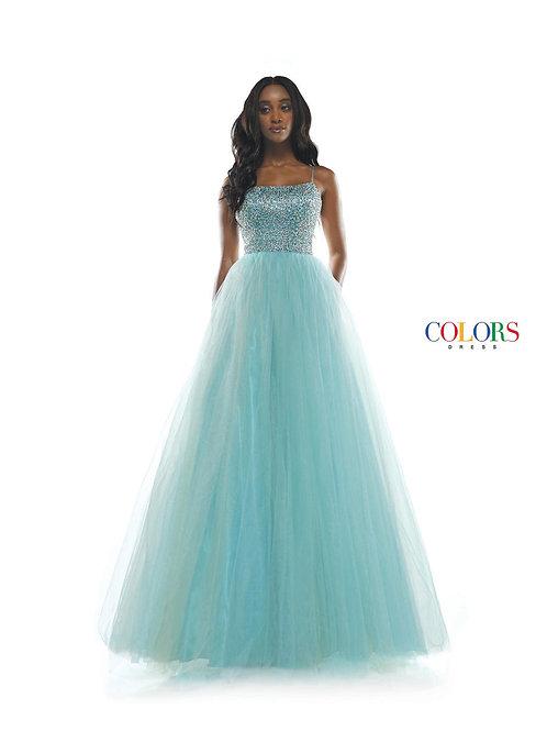 Colors 2347 Aqua Size 4