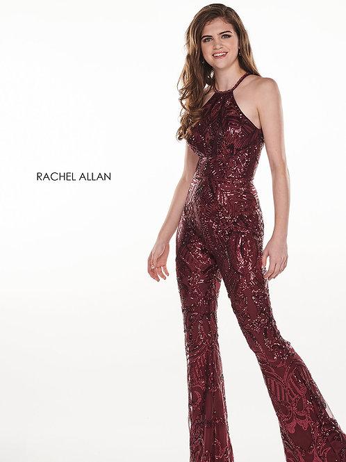 Rachel Allan 6600 Black Cherry Size 8