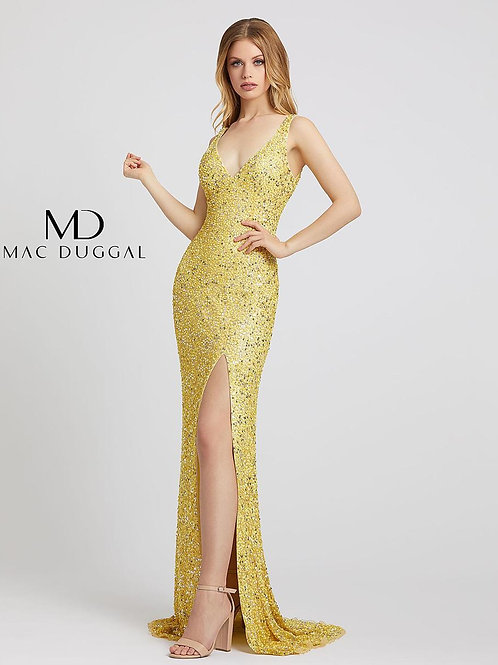 Mac Duggal 1068 Lemon Size 2