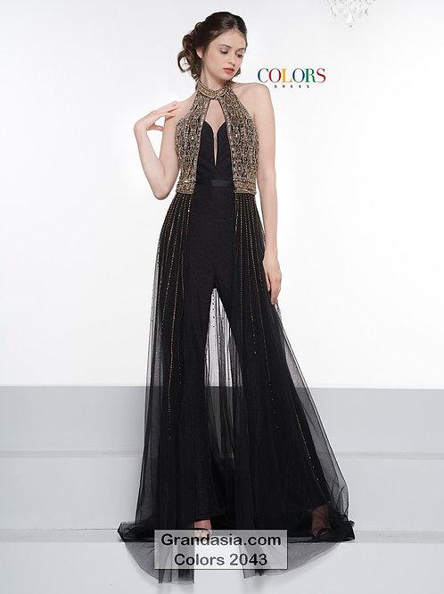 Colors 2043 Black/Gold Size 2