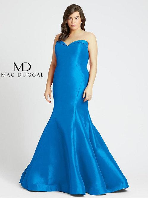 Mac Duggal 67606 Peacock Size 22W