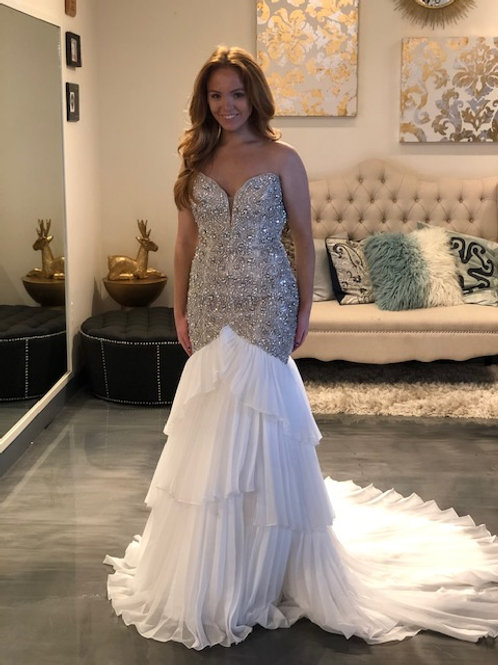 Mac Duggal 62472 Candlelight Size 4