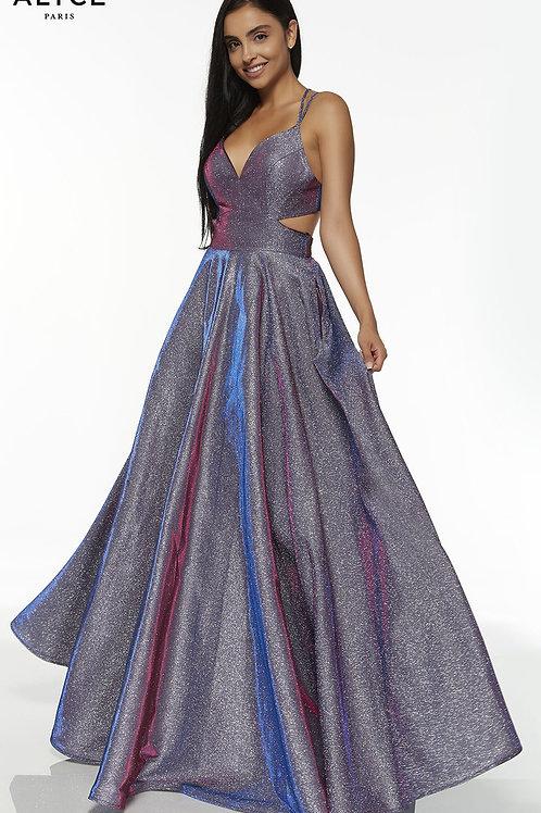 Alyce 60567 Starry Blue Size 10