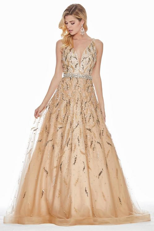 Ashley Lauren 1364 Gold Size 2