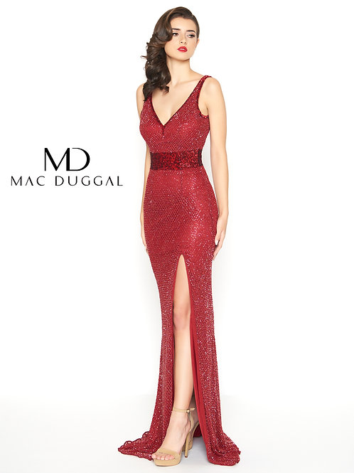 Mac Duggal 1070 Garnet Size 14