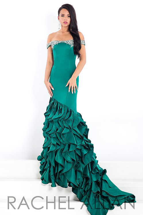 Rachel Allan 5892 Emerald Size 6