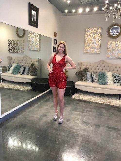 Ashley Lauren 4286 Red Size 2