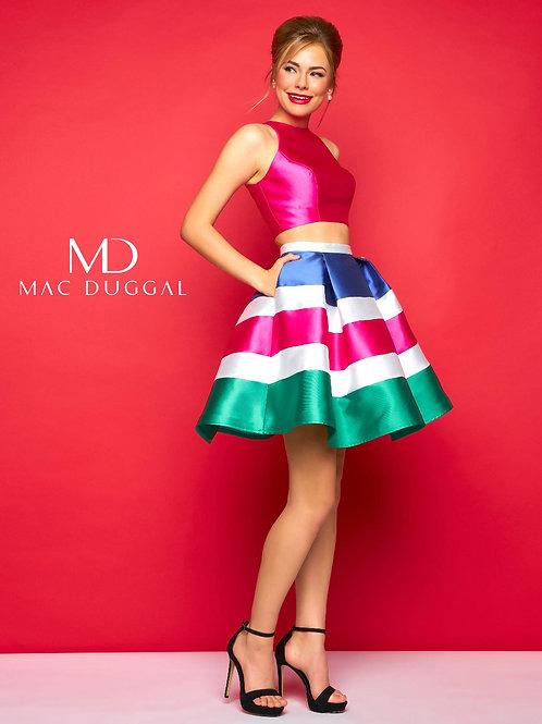 Mac Duggal 65715 Lipstick Multi Size 2