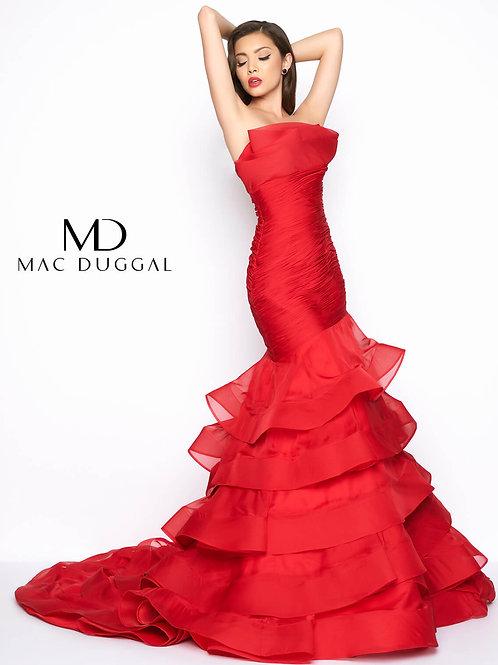 Mac Duggal 80559 Deep Red Size 6