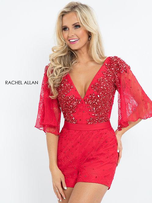 Rachel Allan L1198 Red Size 6