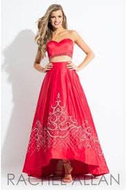 Rachel Allan 7519 Red Size 2