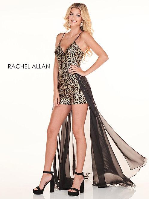Rachel Allan 4006 Cheetah Size 10
