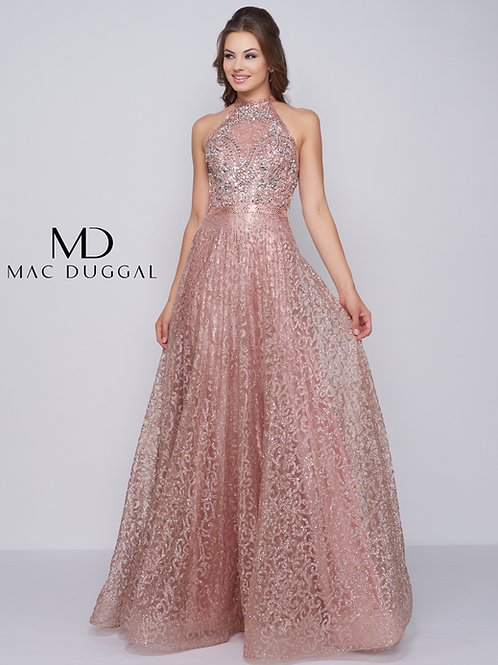 Mac Duggal 30596 Rose Gold Size 6 & 10