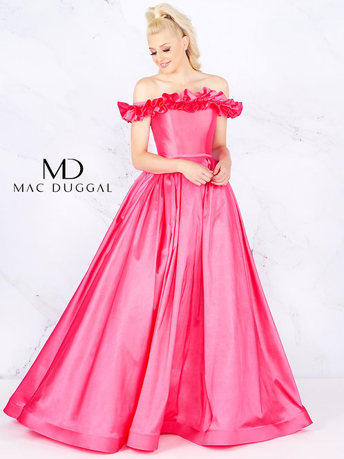 Mac Duggal 66723 Passion Pink Size 4