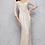 Thumbnail: Mac Duggal 4247 Platinum/Nude Size 8