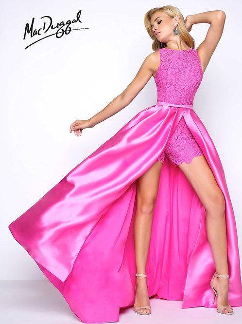 Mac Duggal 62715 Petal Pink Size 4