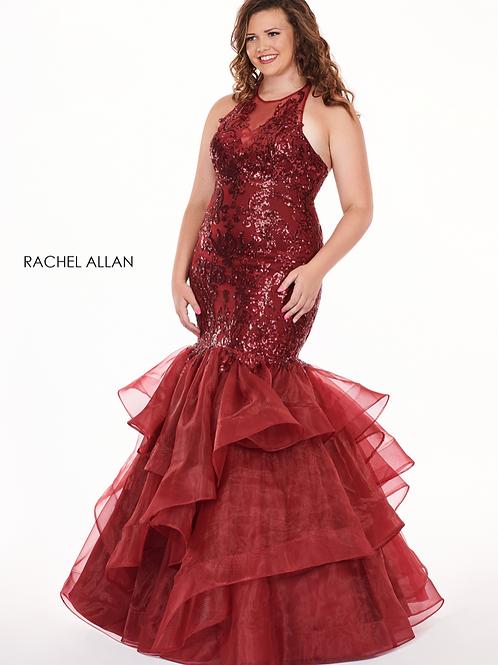 Rachel Allan 6688 Marsala Size 20W