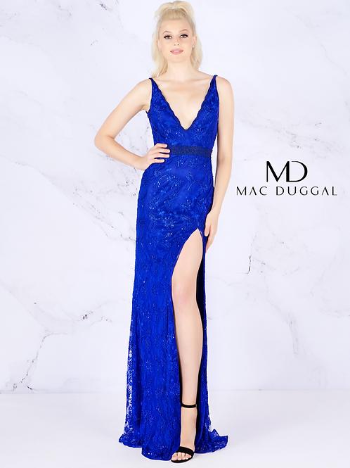Mac Duggal 4816 Cobalt Size 8