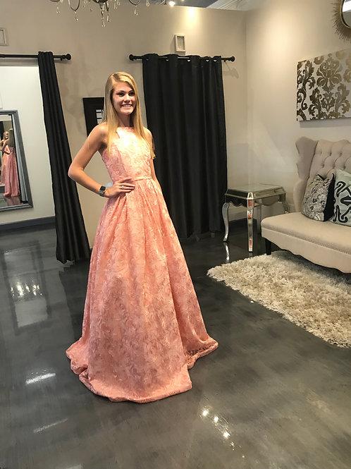 Ashley Lauren 8005 rose Size 16