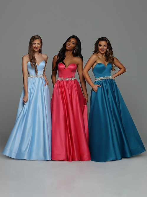 Sparkle Prom 71974 Teal Size 10