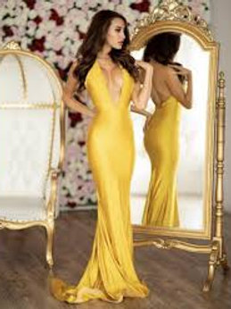 Jessica Angel 728 Yellow Size Small