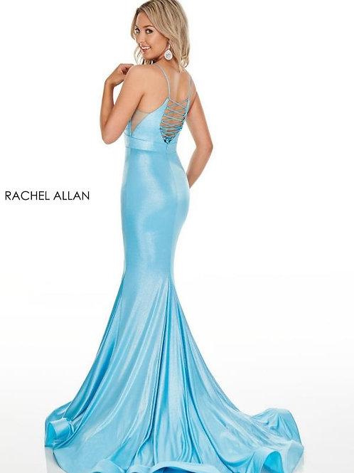 Rachel Allan 7118 Aqua Size 10