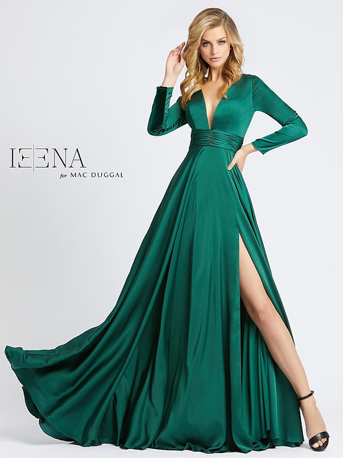 Mac Duggal 55245 Emerald Size 6