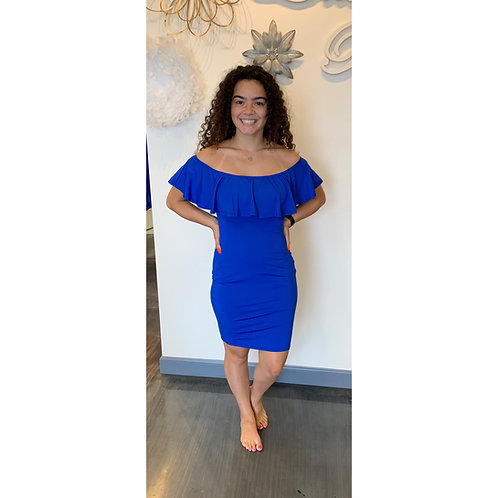 Lola B Blue Jersey Size Large
