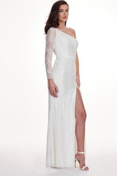 Rachel Allan 6468 White Size 6