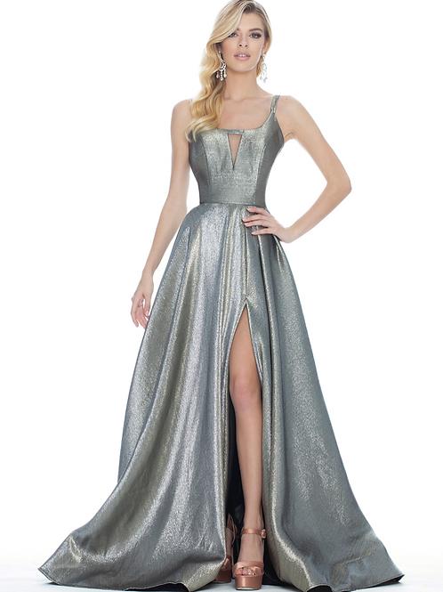 Ashley Lauren 1514 Silver/Gold Size 8
