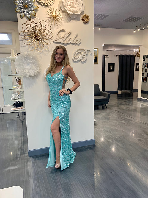 Aleta 318 Tiffany Blue Size 8