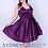 Thumbnail: Sydney's Closet SC8092 Purple Size 18
