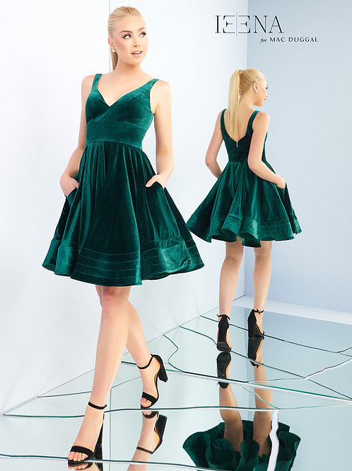 Mac Duggal 48478 Emerald Sizes 8