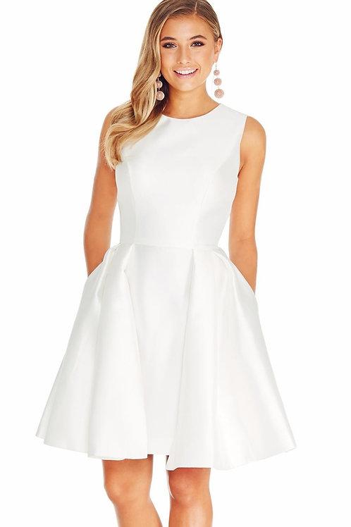 Ashley Lauren 4057 White Size 0