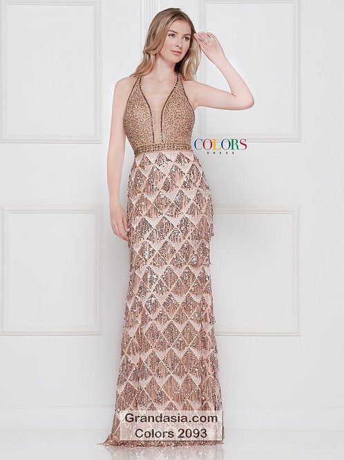 Colors 2093 Rose gold Size 8