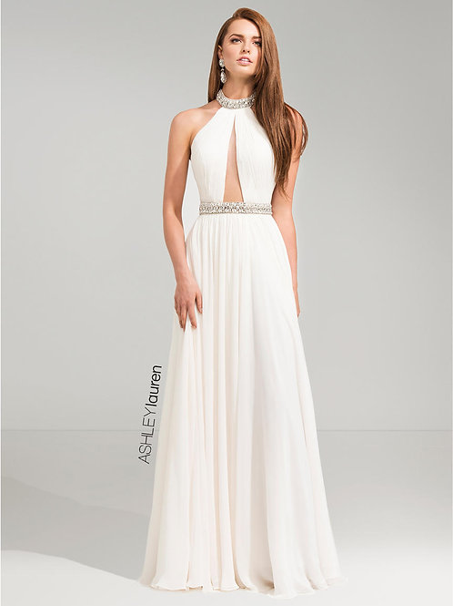 Ashley Lauren 1103 Ivory Size 4