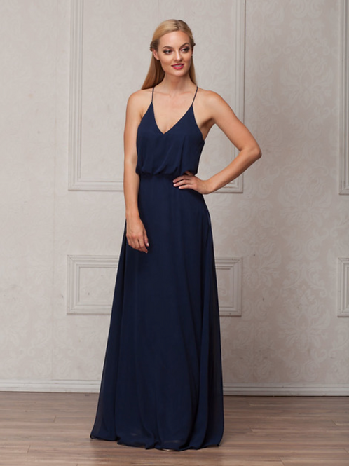 Amelia Couture 825 Navy Size 16